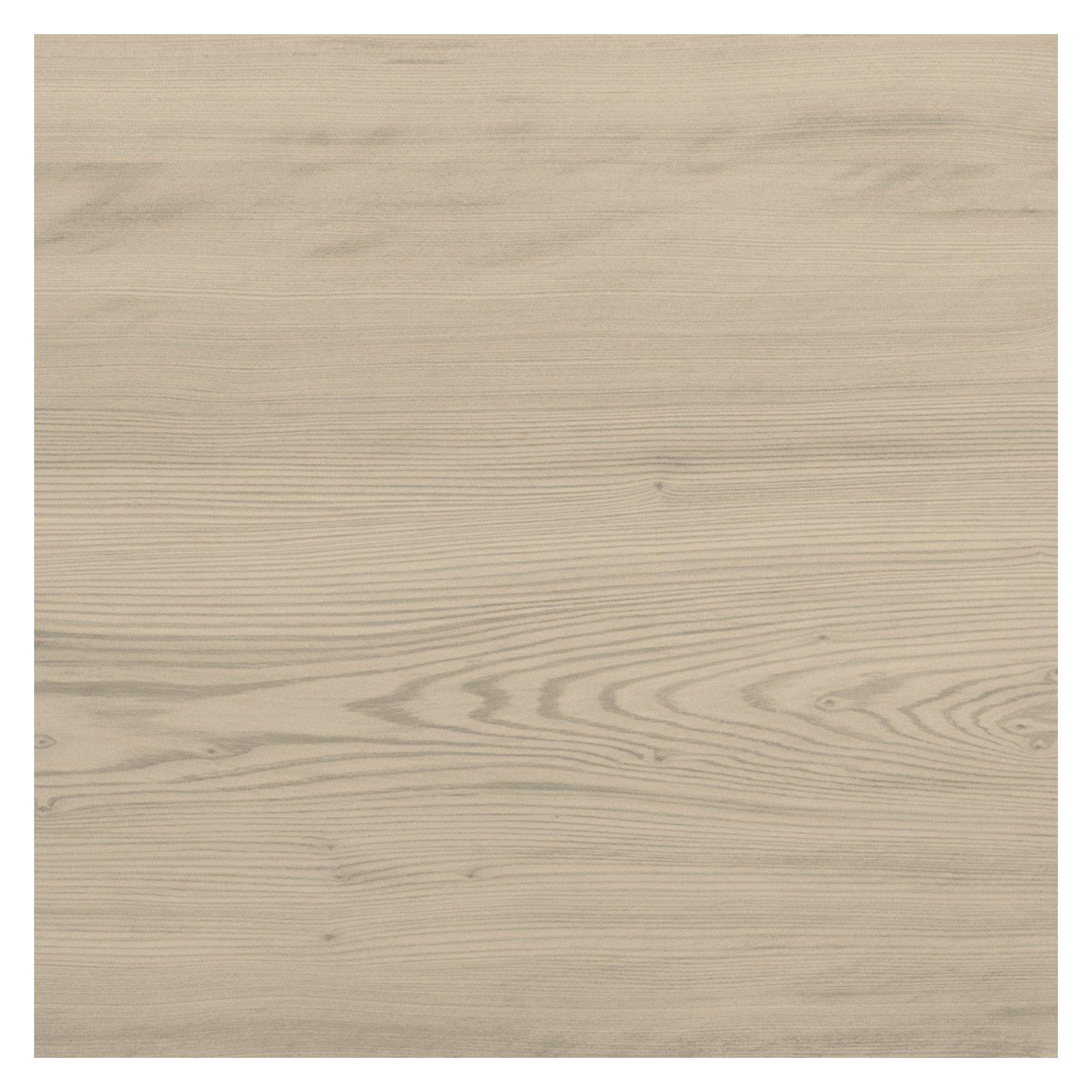 Bureau bois moderne frêne naturel 130 cm TILT
