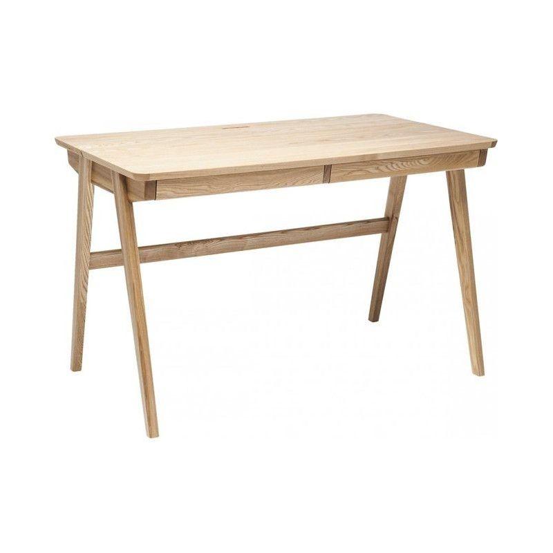 Bureau Bois Design 120 cm SANIO
