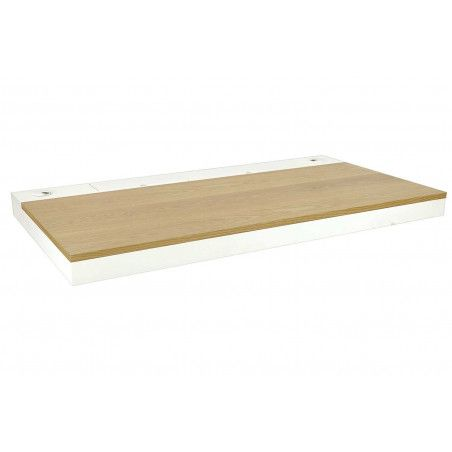 Bureau Bois/Blanc Design Suspendu 120 cm HANG
