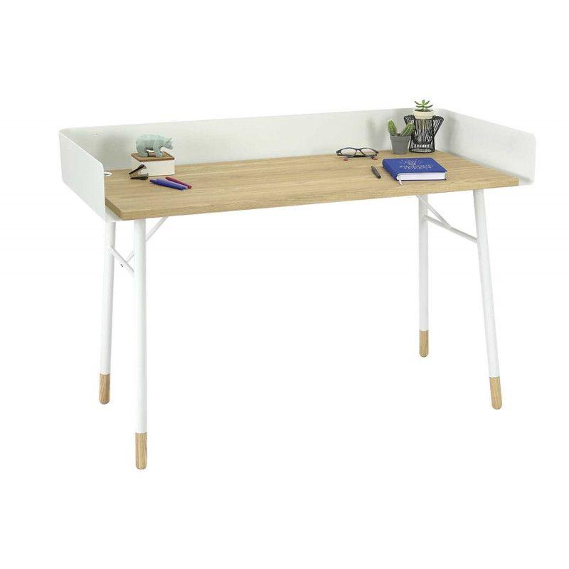 table de bureau bois design cover mob in. Black Bedroom Furniture Sets. Home Design Ideas
