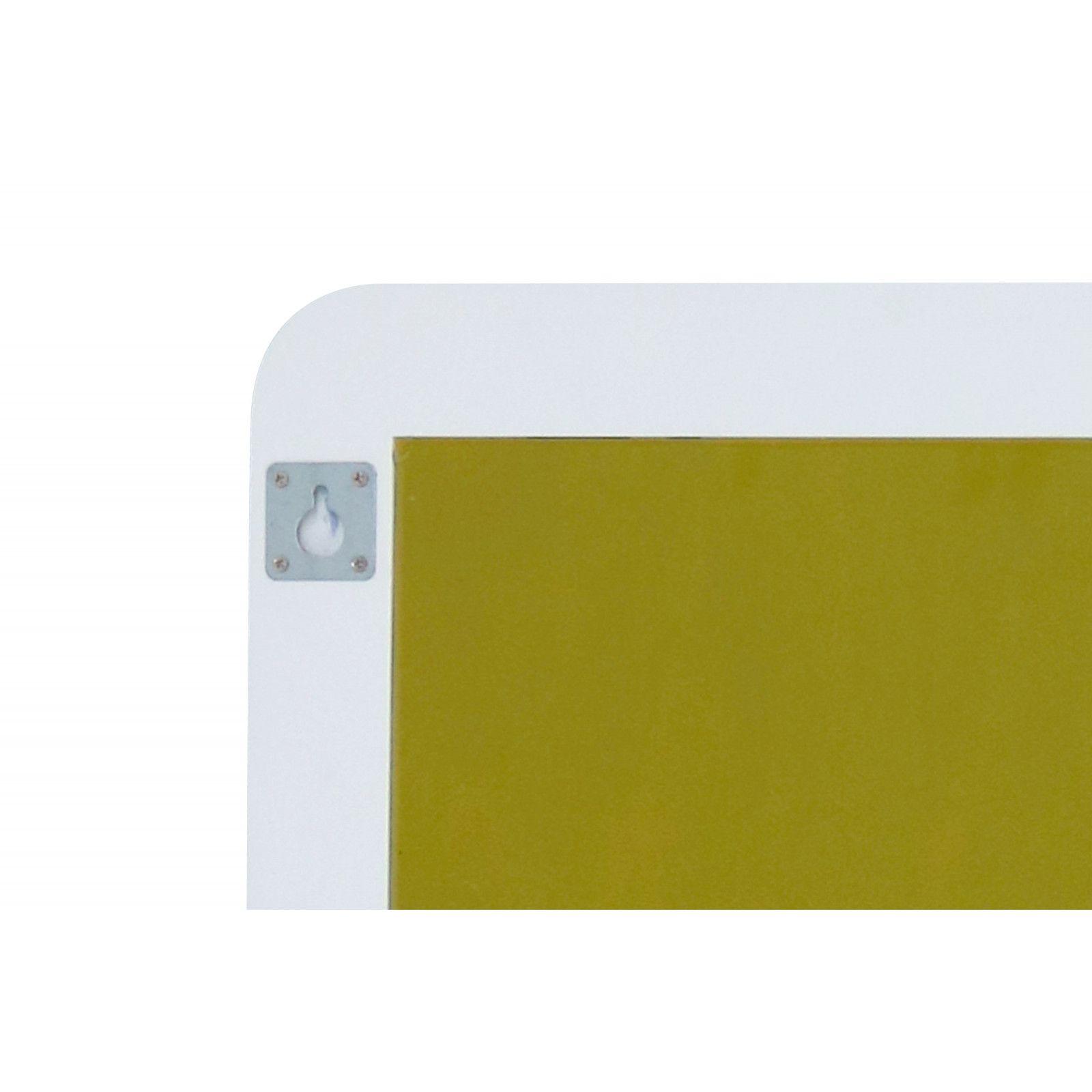 Miroir salle de bain blanc L130 x H70 BONI