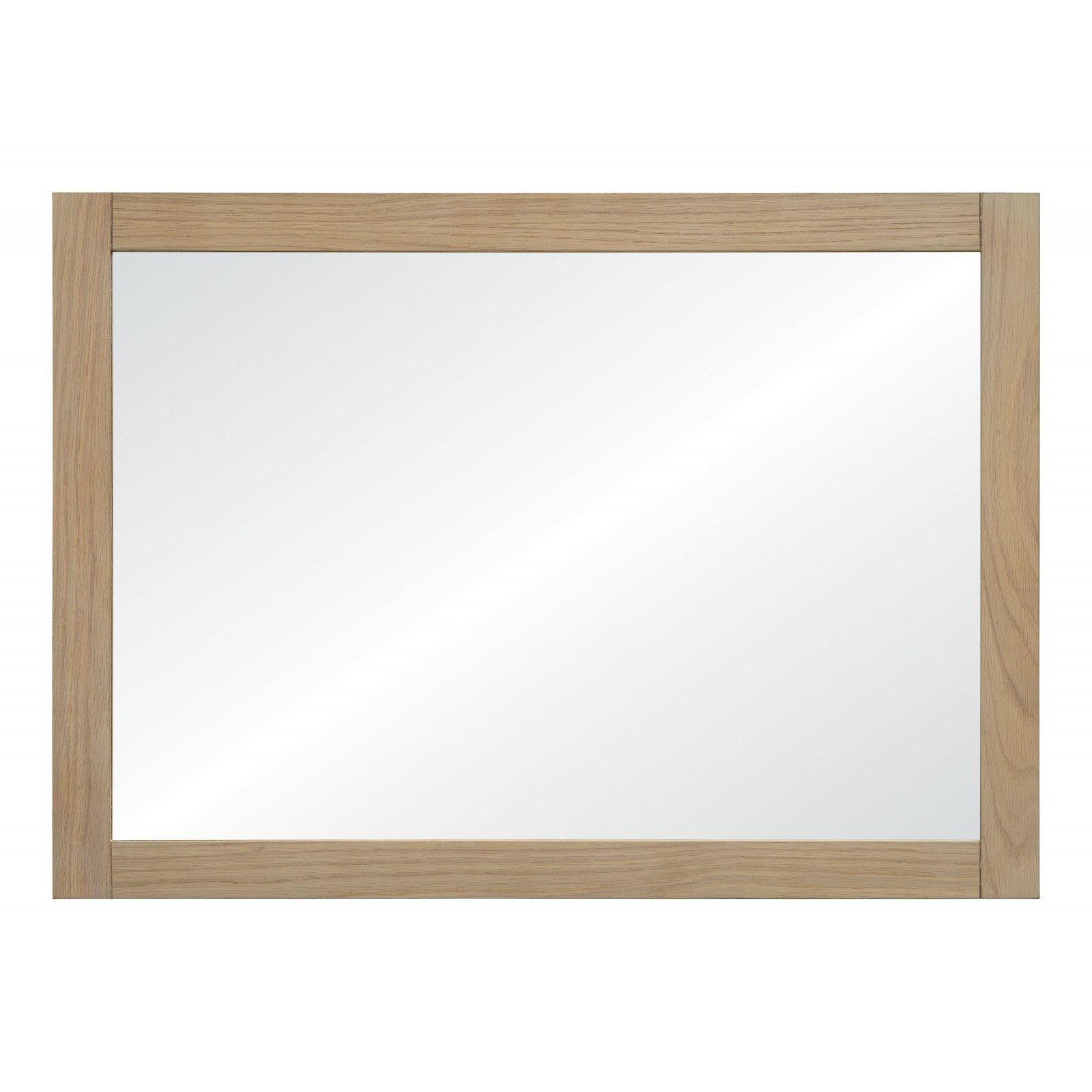 Miroir salle de bain chêne naturel L50 x H70 PALM