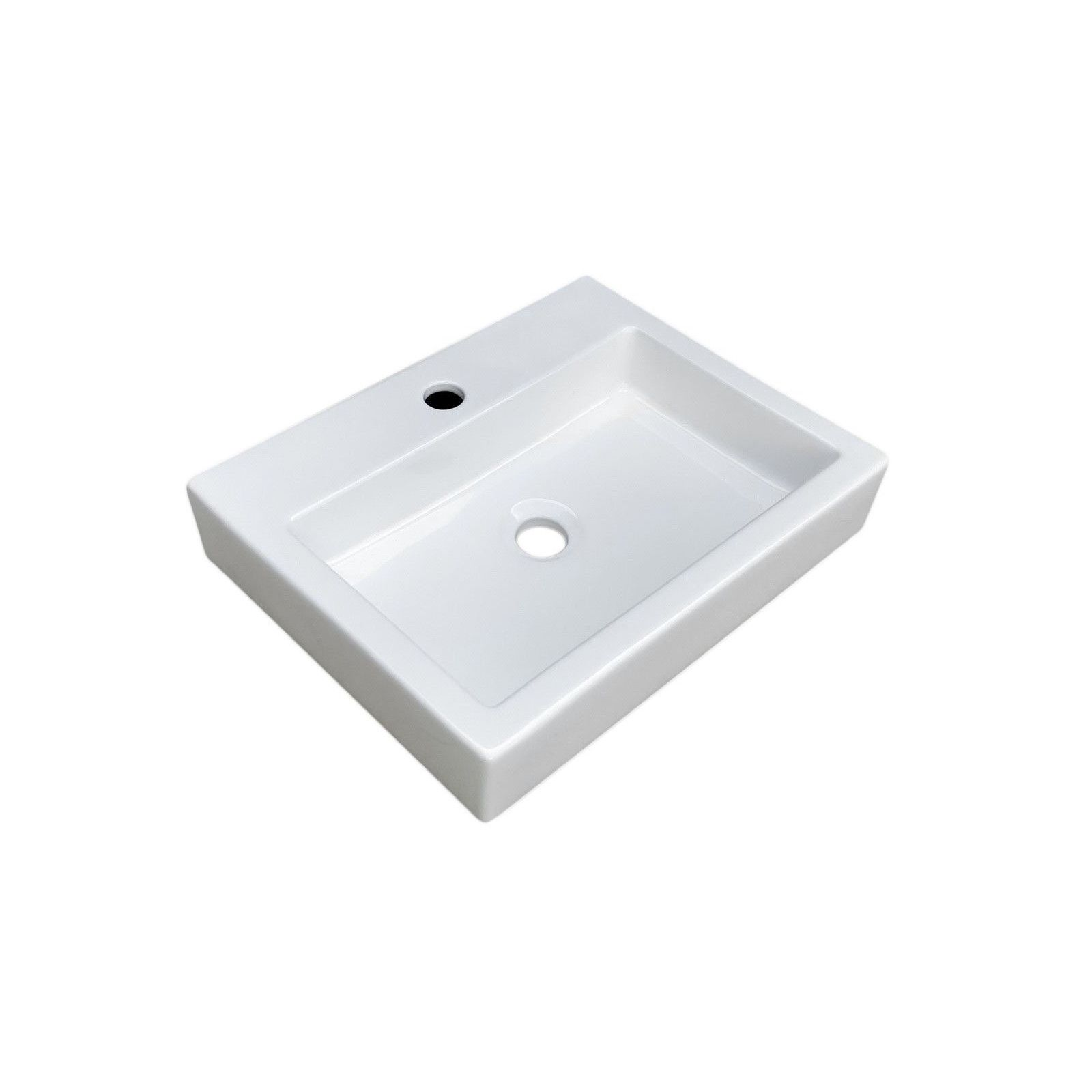 Vasque blanche à poser - Céramique  L48 PADI