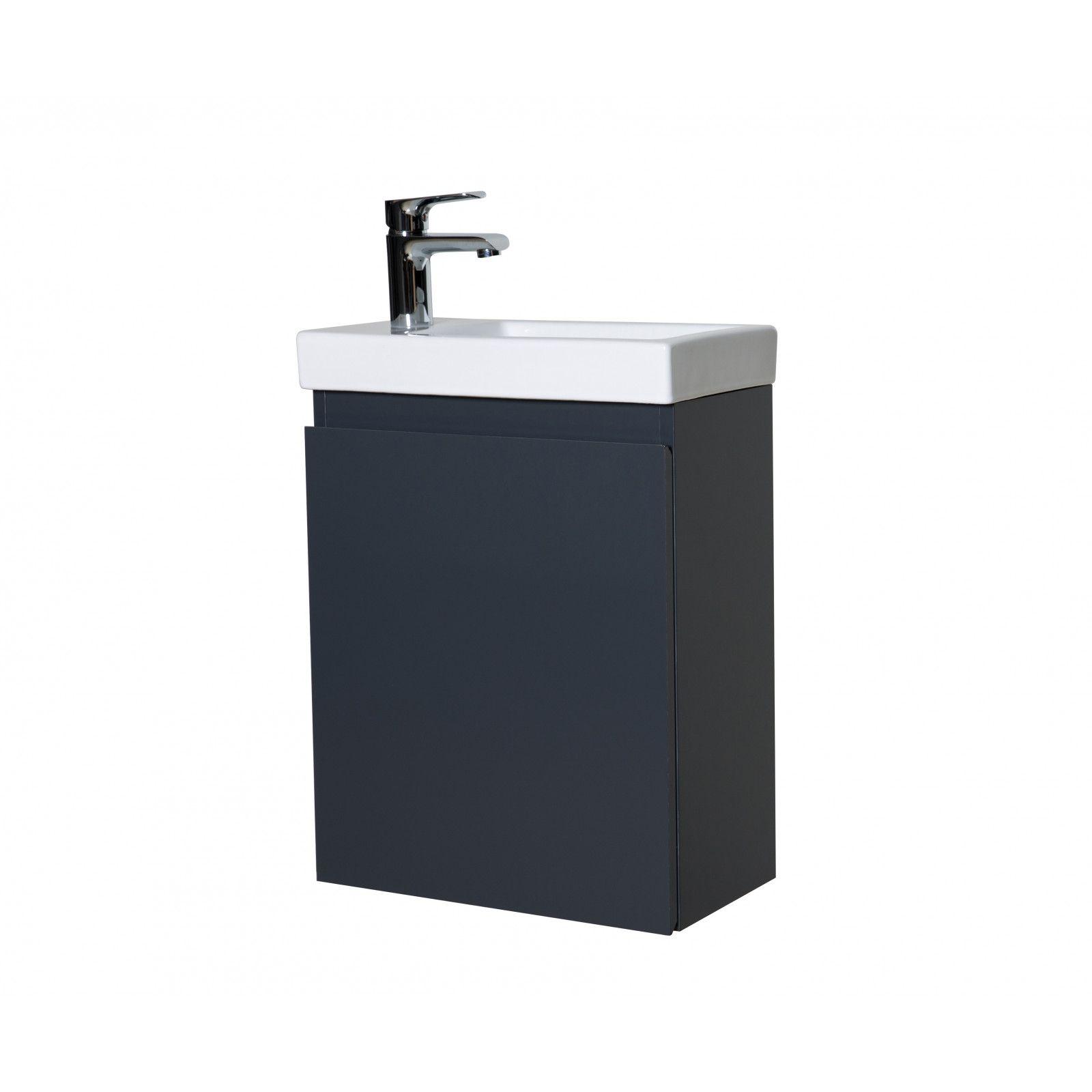 Lave-mains L40,5 x H55 Gris LISA