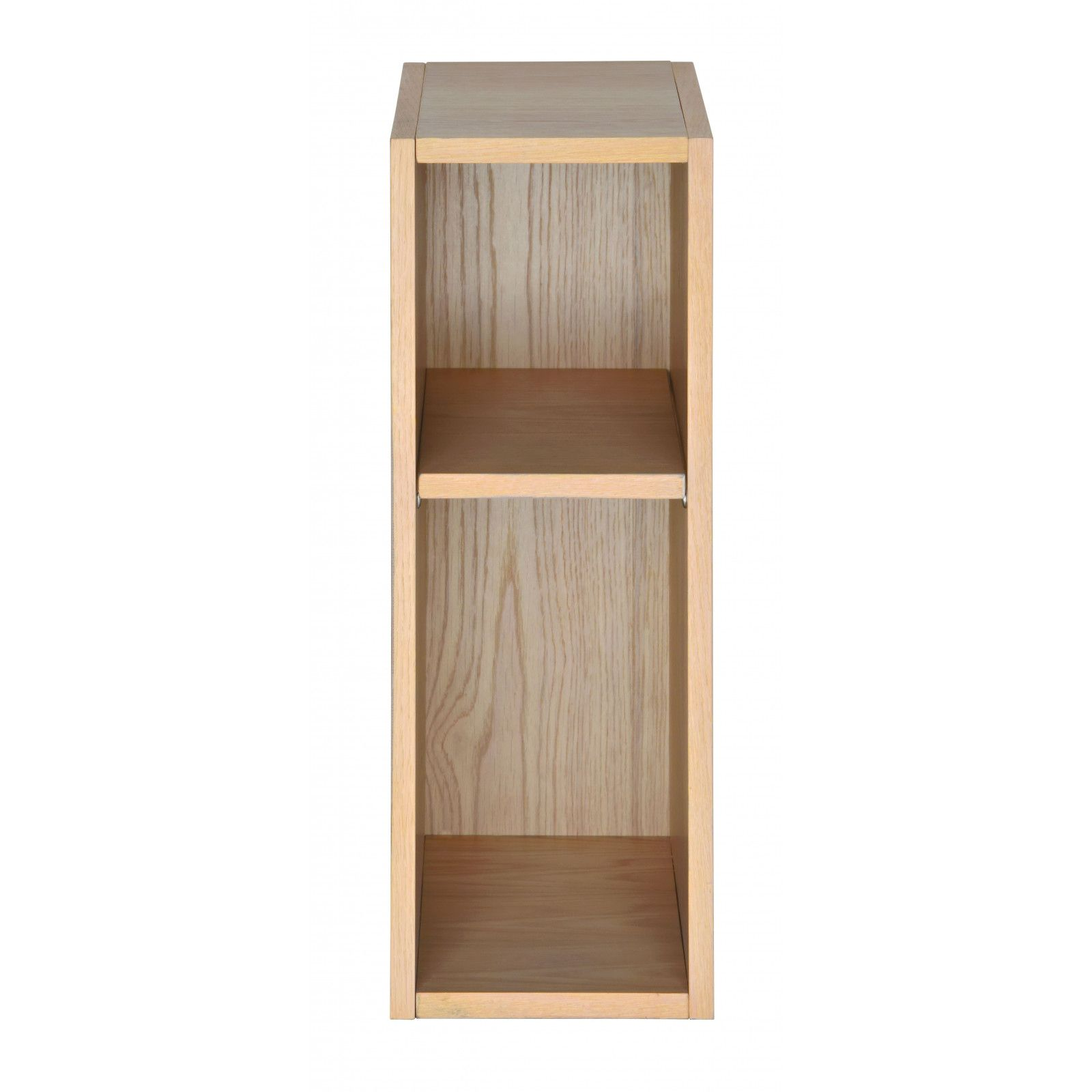 Ensemble salle de bain chêne 140 cm meuble + vasque + 2 miroirs ENIO