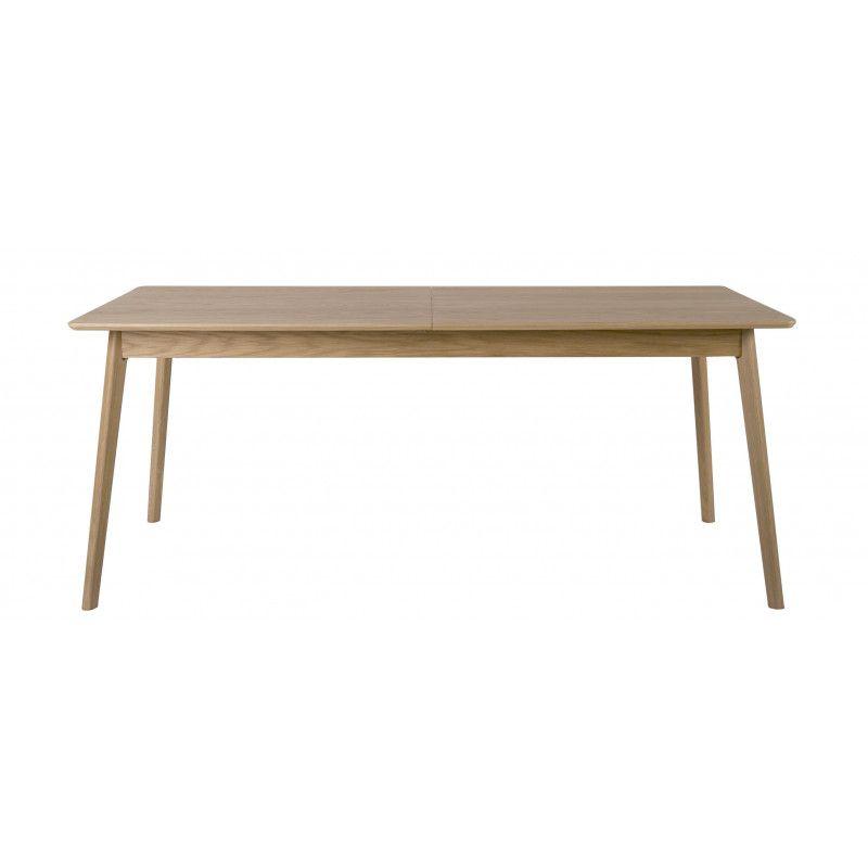 Table à Manger Extensible en Bois L150/200xH75xP80cm