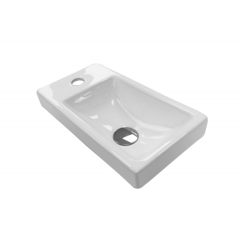 Lave-mains céramique LISA L41xP21,5 cm