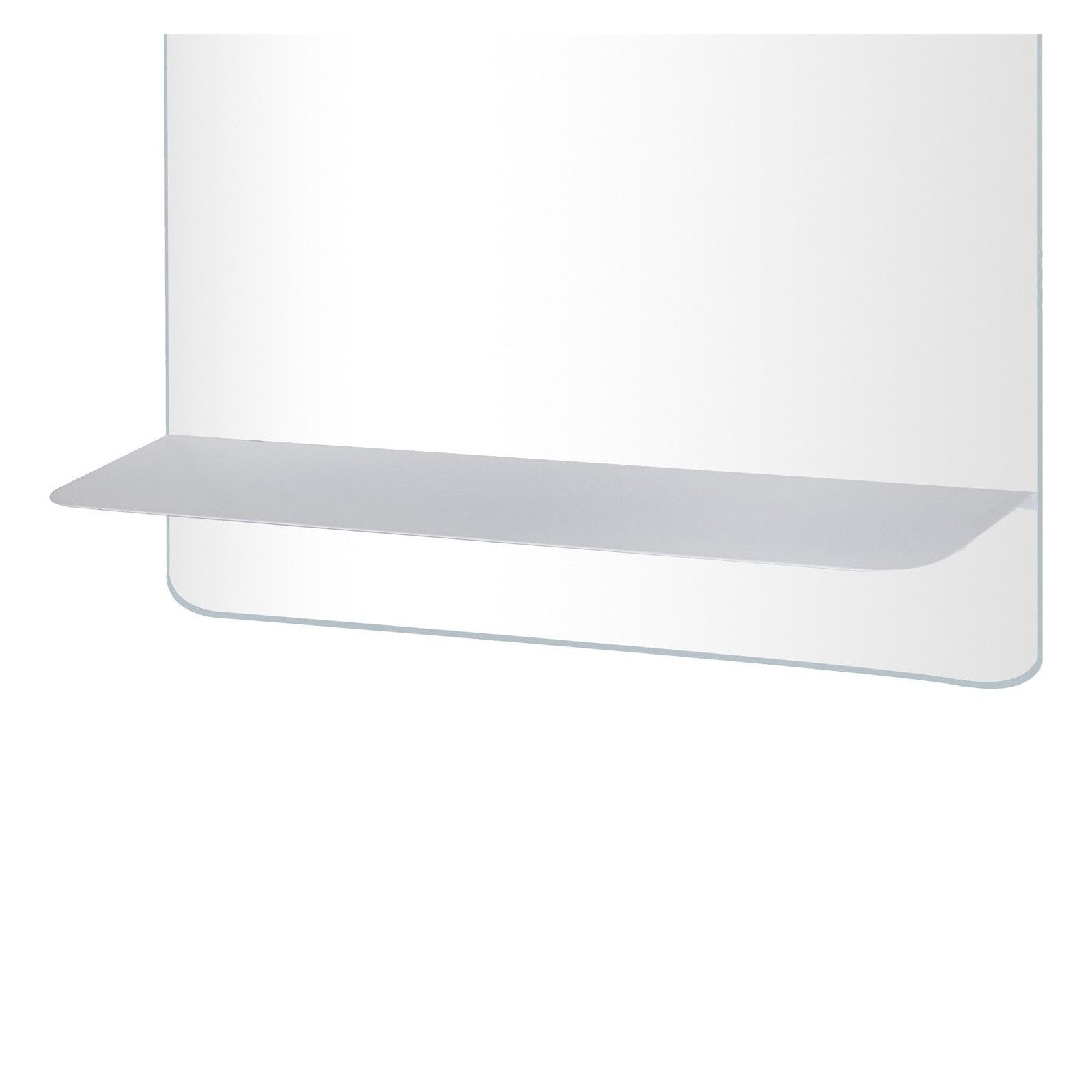 Ensemble de Salle de Bain WILL - Plan de toilette suspendu 60 cm + Structure métal Noir Mat + Vasque