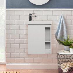 Lave-mains Blanc L41,5 x H53 HAMPTON