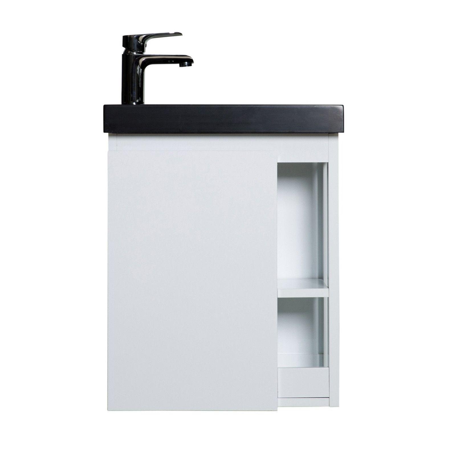 Lave-mains Blanc & noir L41,5 x H53 HAMPTON