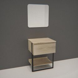 Ensemble de Salle de bain NINA Meuble 60CM + Miroir