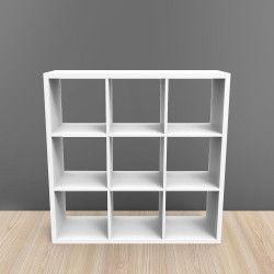 Étagère 9 cases - Blanc - 105 x 105 cm KUBIN