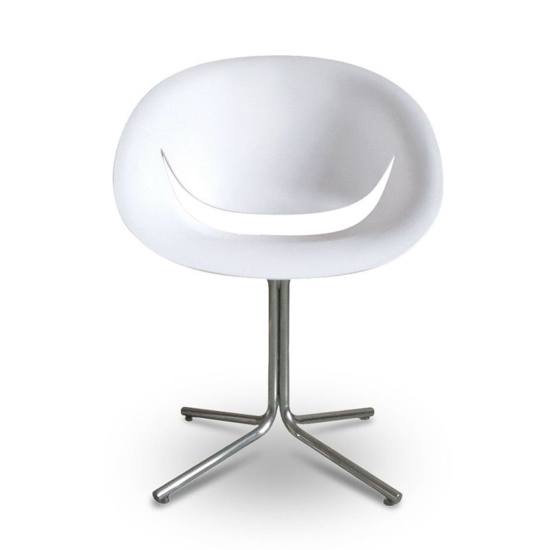 Chaise Design Blanc HAPPY
