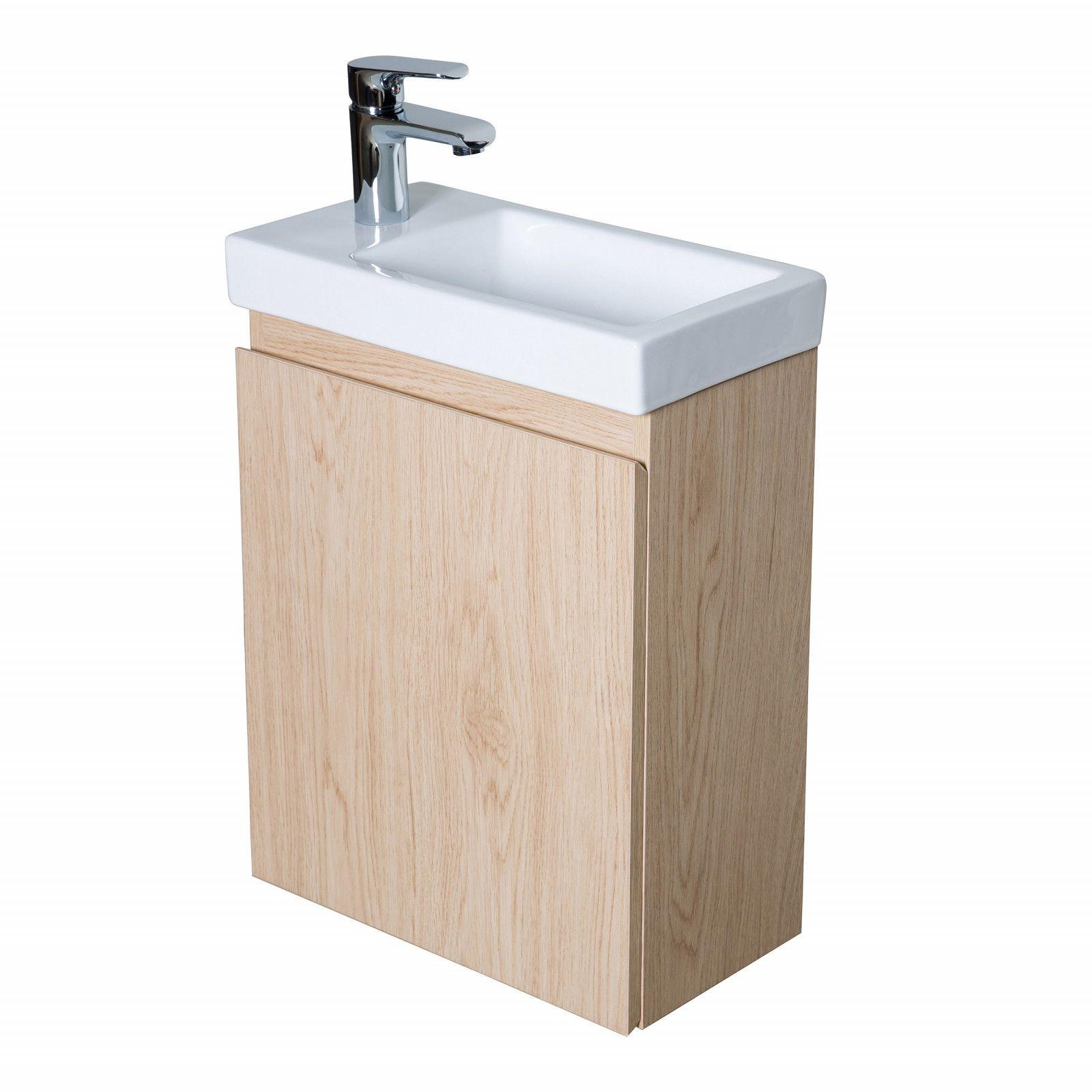 Meuble lave-mains Chêne L41 x H54 LISA
