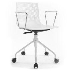 Chaise de bureau à roulettes STUDI